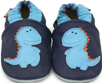 Amazon.com: Carozoo Zapatos de bebé de piel suave suela ...