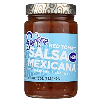 Frontera Foods Salsa Mexicana (Medium) - Salsa Mexicana - Case of 6 - 16