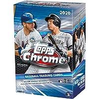 $99 » 2020 Topps Chrome MLB Baseball BLASTER box (7 pks + one 4-card exclusive parallel pk…