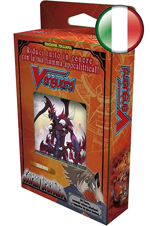 vanguard deck italiano  Bushiroad - Trial Deck Cardfight!! Vanguard SOVRANO DRACONICO Mazzo ...