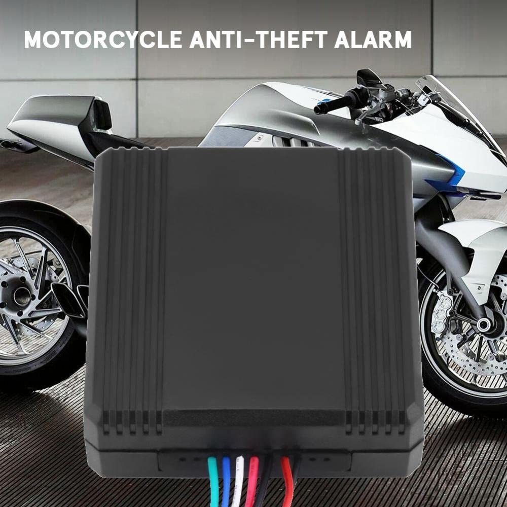 Keenso Motorcycle ID Card Lock Anti-theft Security Alarm System Keyless Entry Immobilizer System Smart Induction Invisible Alarm Sensor Motorcycle Anti-theft Alarm