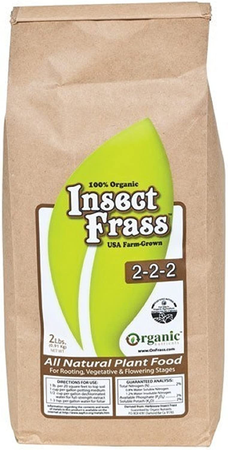 NEW Hydroponics Organic Insect Frass 2-2-2 Plant Food Nutrient Blooming Enhancer