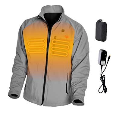 810680fc4 Mens Wyvern 3-Zone Heated Jacket - -: Amazon.co.uk: Clothing