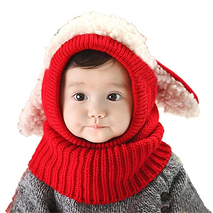 URSING Niedlich Winter Baby Kinder Mädchen Jungen Warm Woll Haube ...