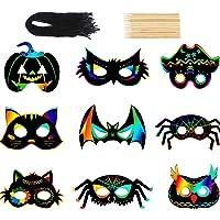 36-Pieces STEFORD Halloween Scratch Art Paper