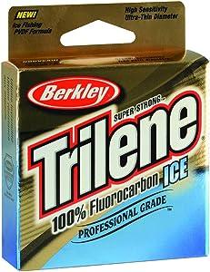 Trilene 100% Fluorocarbon Ice Fishing Line