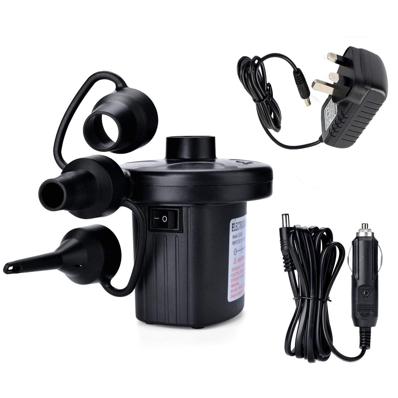 Black Yellowstone Tornado Outdoor Electric 12v Pump