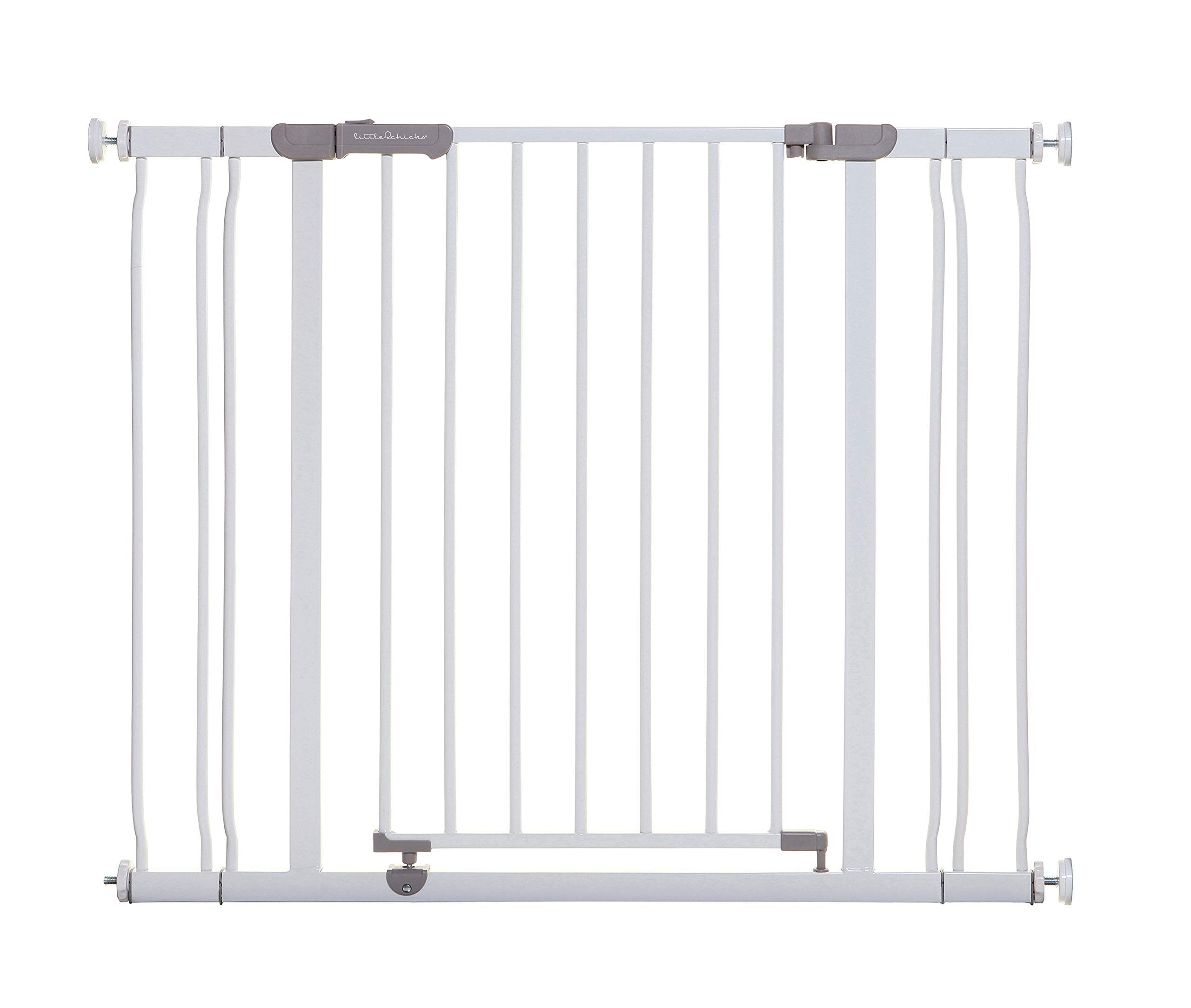 Little Chicks Winston Pressure Mounted Security Gate with Stay Open Feature, 29.5-40 inch