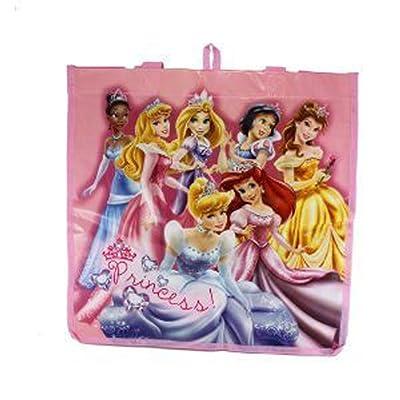Pink Disney Princesses in Jewels Tote Bag