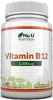 Vitamina C | 1000 mg - 180 Comprimidos (Suministro para 6 Meses ...