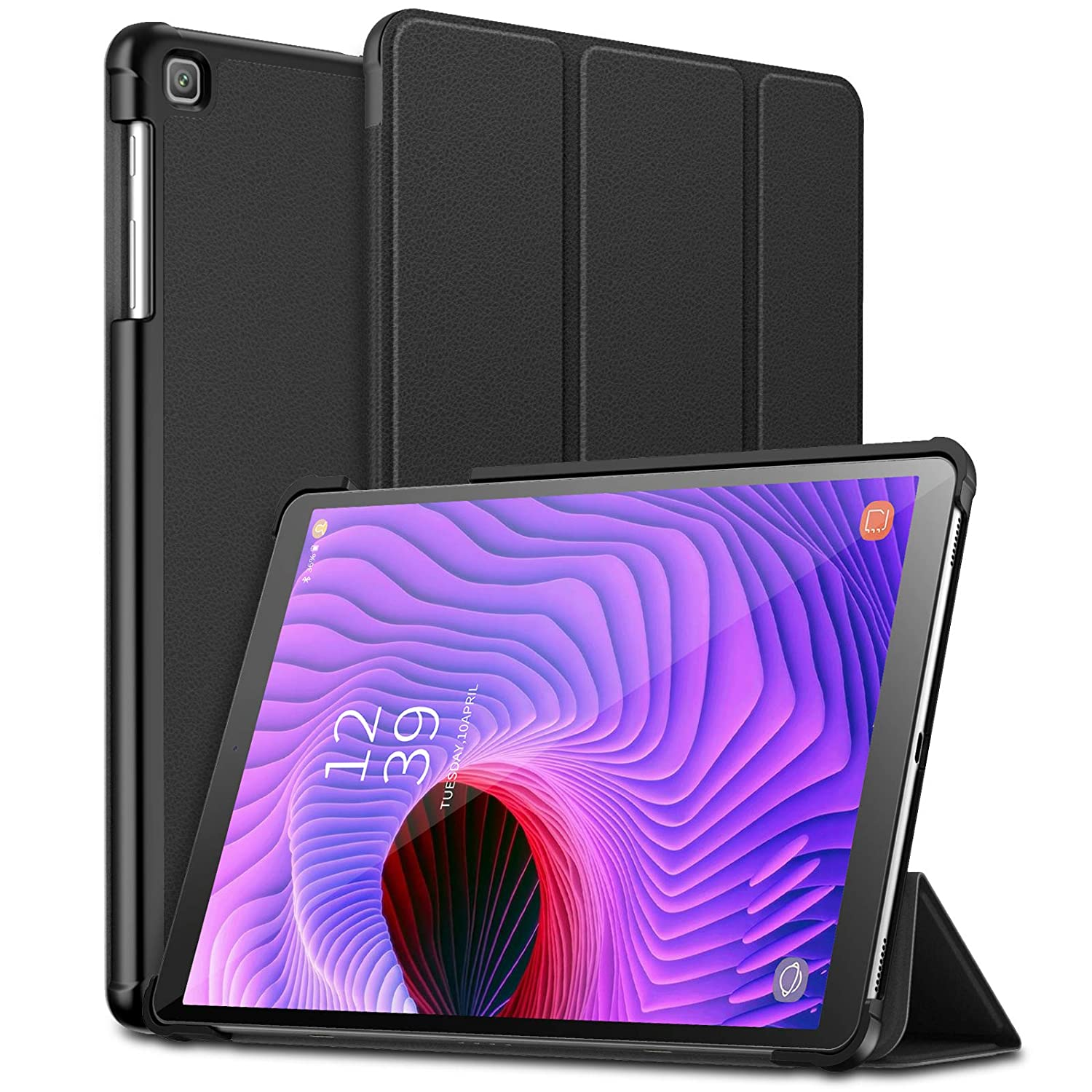 Infiland Samsung Galaxy Tab A 10.1 2019 Case, Ultra Slim Tri-Fold Shell Cover Compatible with Samsung Galaxy Tab A 10.1 Inch Model SM-T510/SM-T515 ...