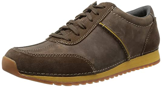 Clarks Men's Leather Casual Clogs and Mules Clogs at amazon