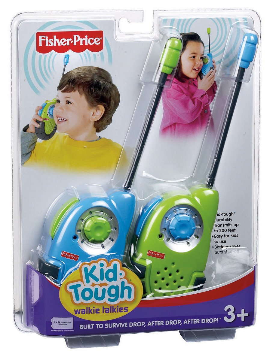 Fisher-Price Kid-Tough Walkie Talkies (Colors May Vary)