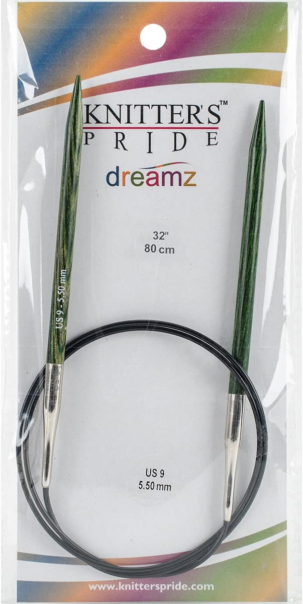 Knitters Pride 200171 Dreamz Fixed Circular Needles 9-Size 8//5mm