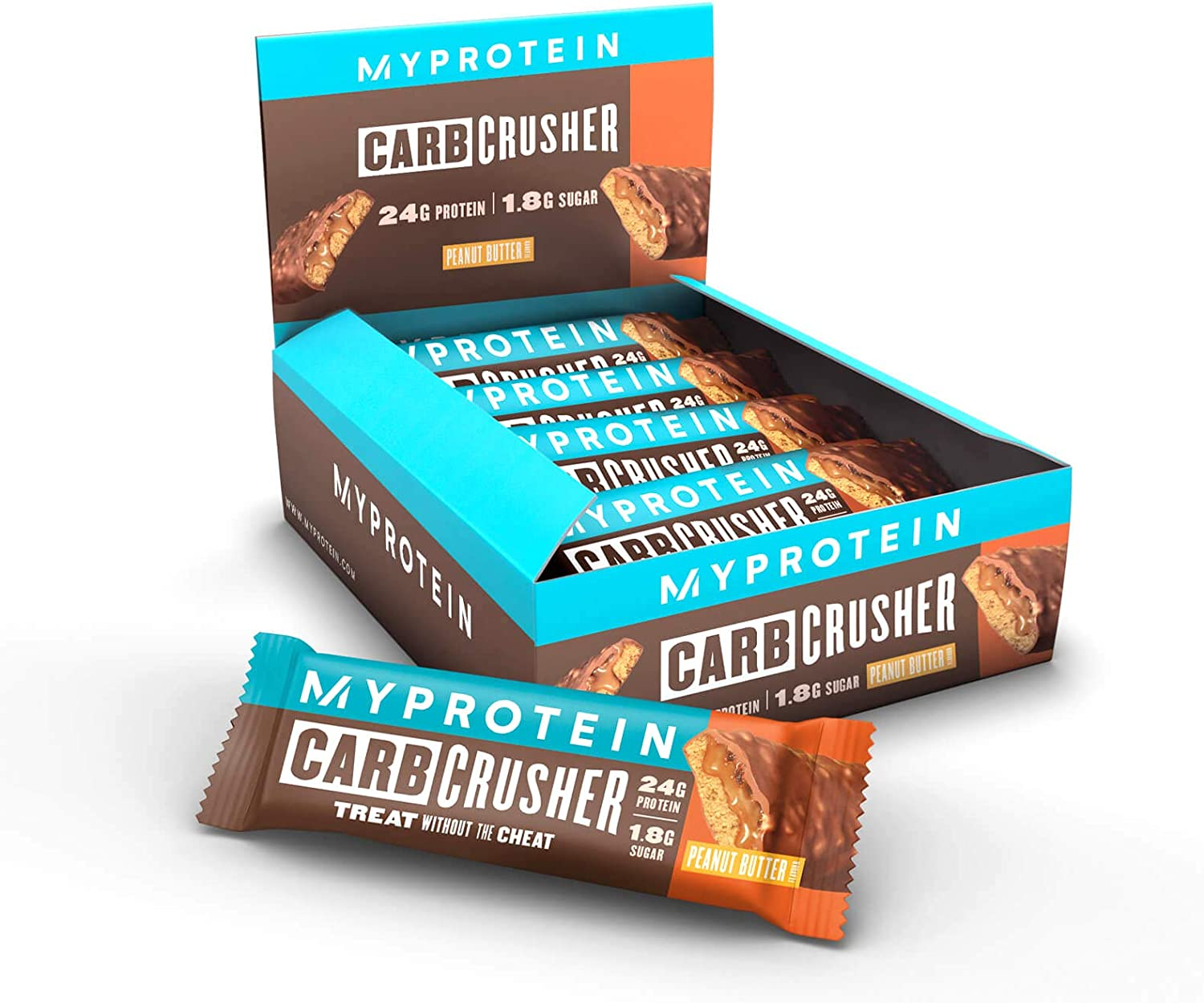 Myprotein The Carb Crusher (12x60g) 12 Unidades 720 g