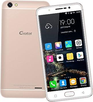 GRETEL A9 Teléfonos Móviles Libres 4G, Smartphone de 5 pulgadas ...