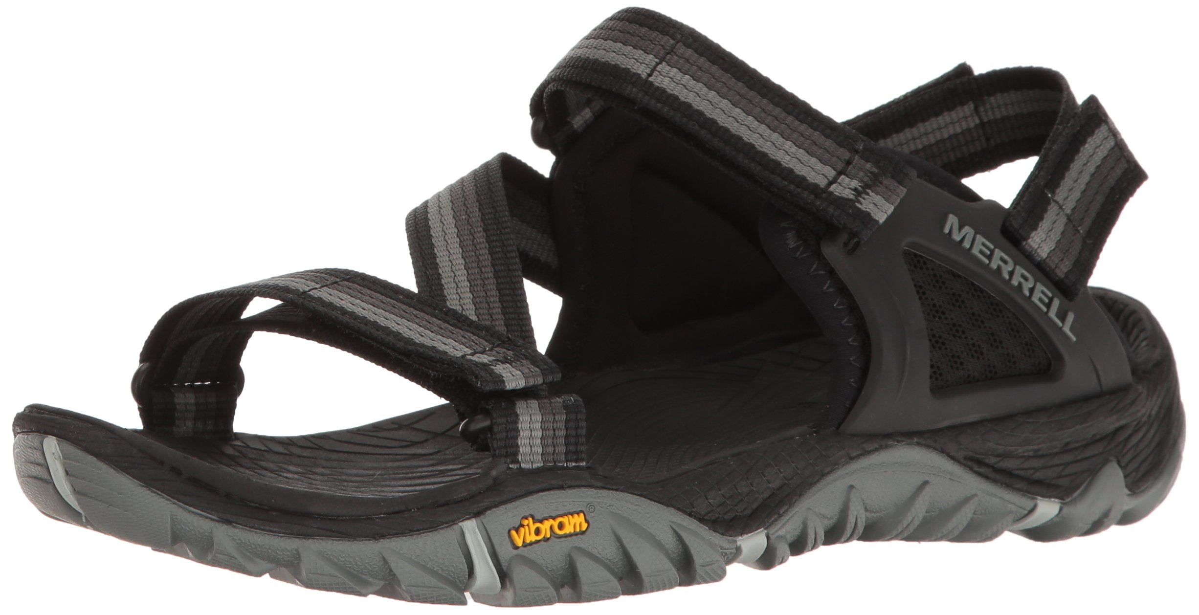 Merrell Women's All Out Blaze Web Sandal, Black, 9 M US
