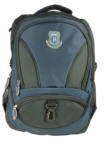 3052d07921eb NEW BERRY L756 großer Rucksack für Schule, Arbeit, Freizeit 40 Liter  34x50x23 (blau