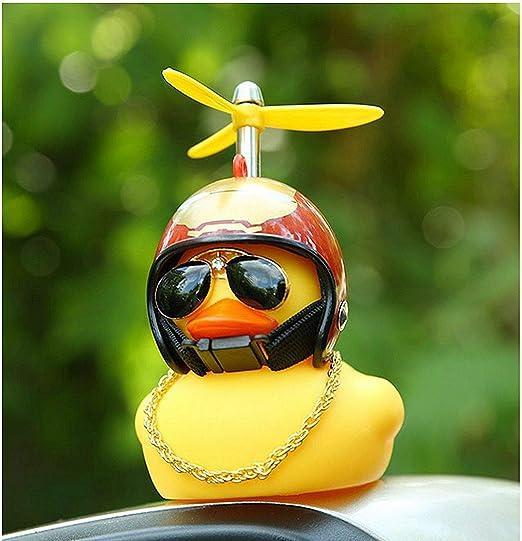 MU XI con casco pato pequeño goma color amarillo, casco de ...
