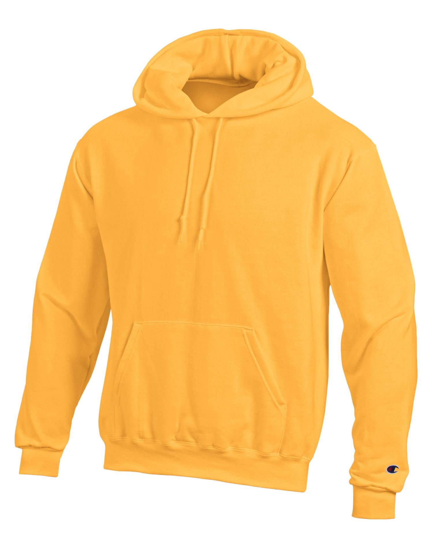 Champion mens Eco 9 oz. Pullover Hood(S700)-C/Gold-L