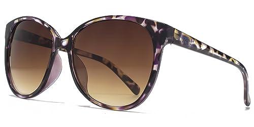 American Freshman Soft Cateye Piazza occhiali da sole tartarugati viola AFS012