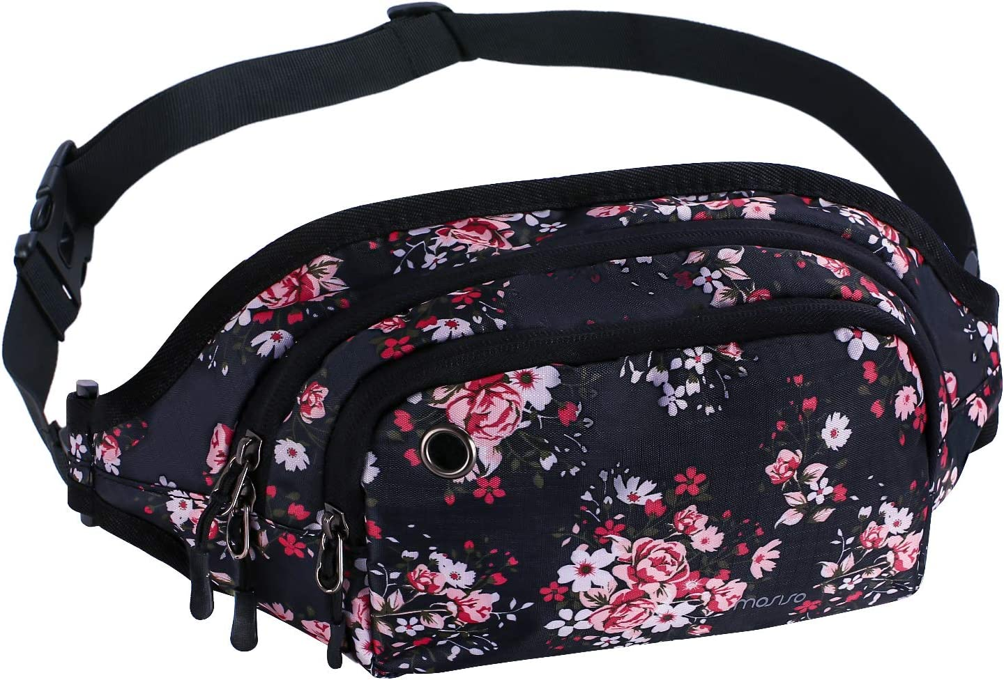 MOSISO Fanny Pack Waist Bag Unisex Sports Hiking Running Bum Belt Outdoor Pouch