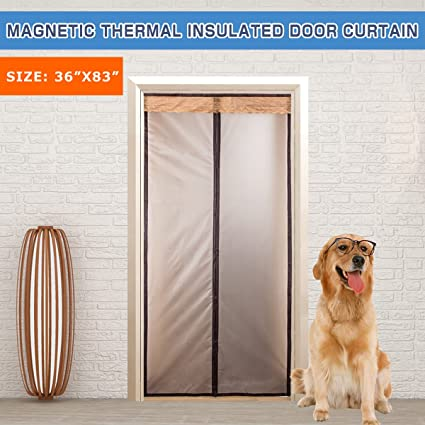 Magnetic Thermal Insulated Door Curtain Enjoy Your Cool Summer And Warm Winter With Saving You Money & Magnetic Thermal Insulated Door Curtain Enjoy Your Cool Summer And ...