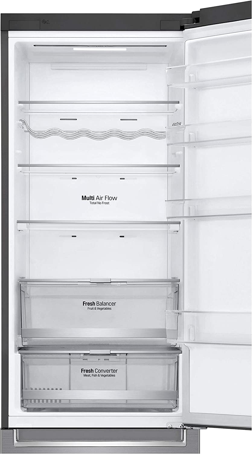 R/éfrig/érateur cong/élateur bas R/éfrig/érateur combin/é Lg GBB72PZDFN Classe A+++ // Pose libre D/égivrage automatique 384 litres R/éfrigerateur//congel :  No Frost // No Frost Inox