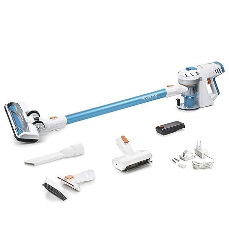 Aspiradora sin cable y sin bolsa con luz LED Invictus X7 ...