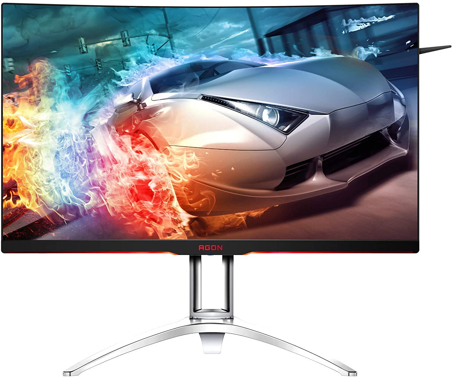 AOC AG322QC4 Curved Monitor