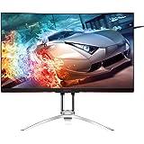 "AOC Agon AG322QC4 31.5"" Curved Framless Gaming Monitor, QHD 2560x1440 VA Panel, FreeSync 2, DisplayHDR 400, 144Hz, 4ms, DisplayPort/HDMI, VESA"