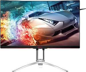 "AOC AGON Curved Gaming Monitor 32"" (AG322QC4), QHD 2560x1440 VA panel, FreeSync 2, DisplayHDR 400, 144Hz, 4ms, DisplayPort/HDMI, VESA"
