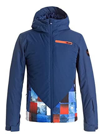 Quiksilver Suit Up Youth Jk Chaqueta para Nieve, Hombre