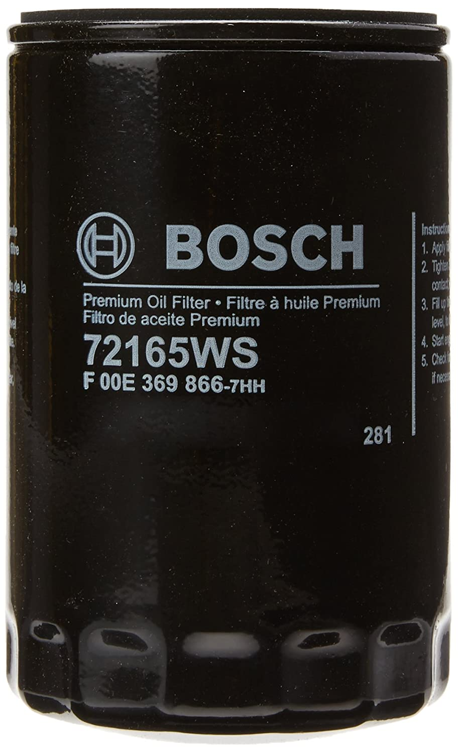 Bosch 72165WS / F00E369866 Workshop Engine Oil Filter ...