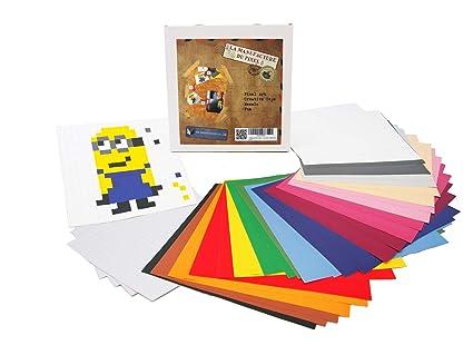 La Manufacture Du Pixel 12 800 Gommettes Stickers Autocollantes Pixel Art Loisir Créatif Mosaïque Fun Créez à L Infini Tout L Art Qui Vous