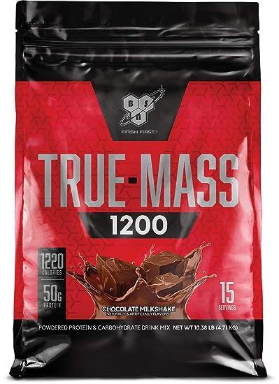 Fin Amazon.com: BSN TRUE-MASS Weight Gainer, Muscle Mass Gainer KP-15