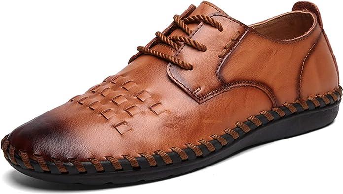 Chaussures De Ville /À Lacets Homme Chaussures en Cuir Respirant pour Hommes Hommes