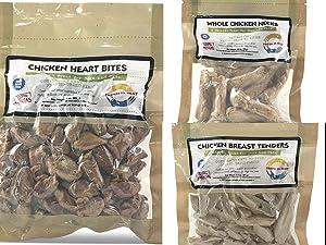 Fresh Is Best Freeze Dried Raw Chicken Combo - Dog & Cat Treats