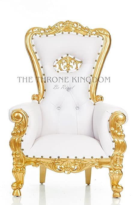 Tiffany Mini Kids Birthday Throne Chair For Children   Prince/Princess  Crown Throne Chair For