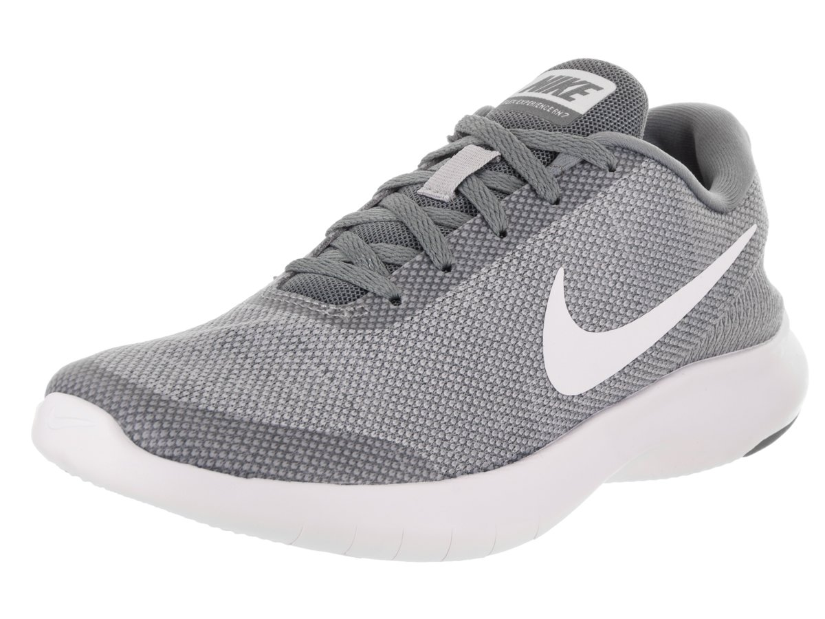 NIKE Women's Flex Experience 7 Running Shoe B071444ZWK 10 B(M) US|Wolf Grey White Cool Grey