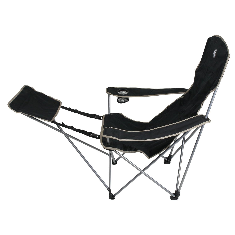 10T Outdoor Equipment Sedia pieghevole da campeggio Plus Nero schwarz silber beige Amazon Sport e tempo libero