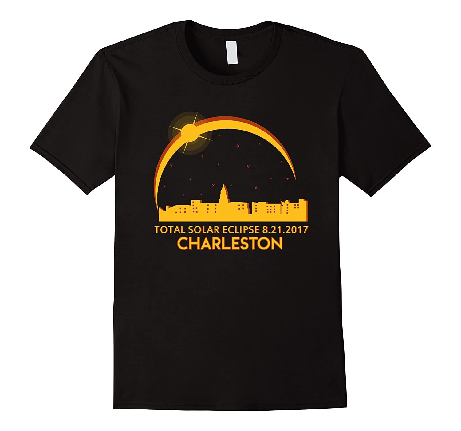 Charleston sc total solar eclipse 8 21 2017 t shirt bn for T shirt printing charleston sc