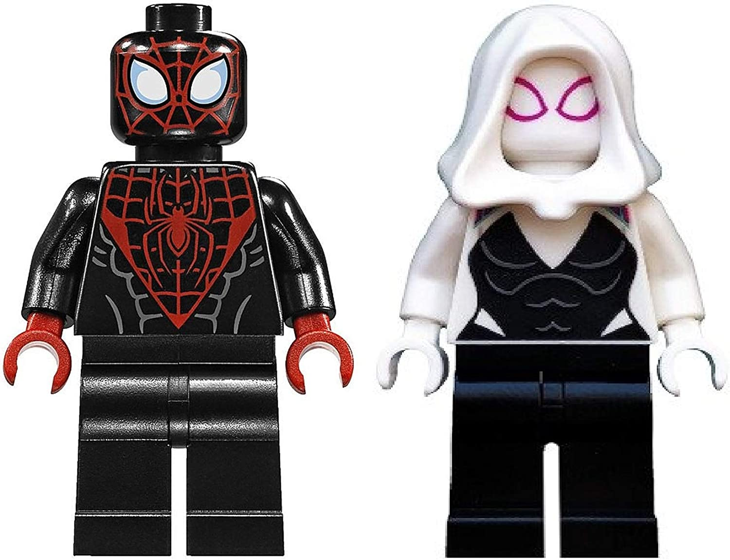 LEGO Superheroes: Miles Morales and Gwen Stacey (Ghost Spider)