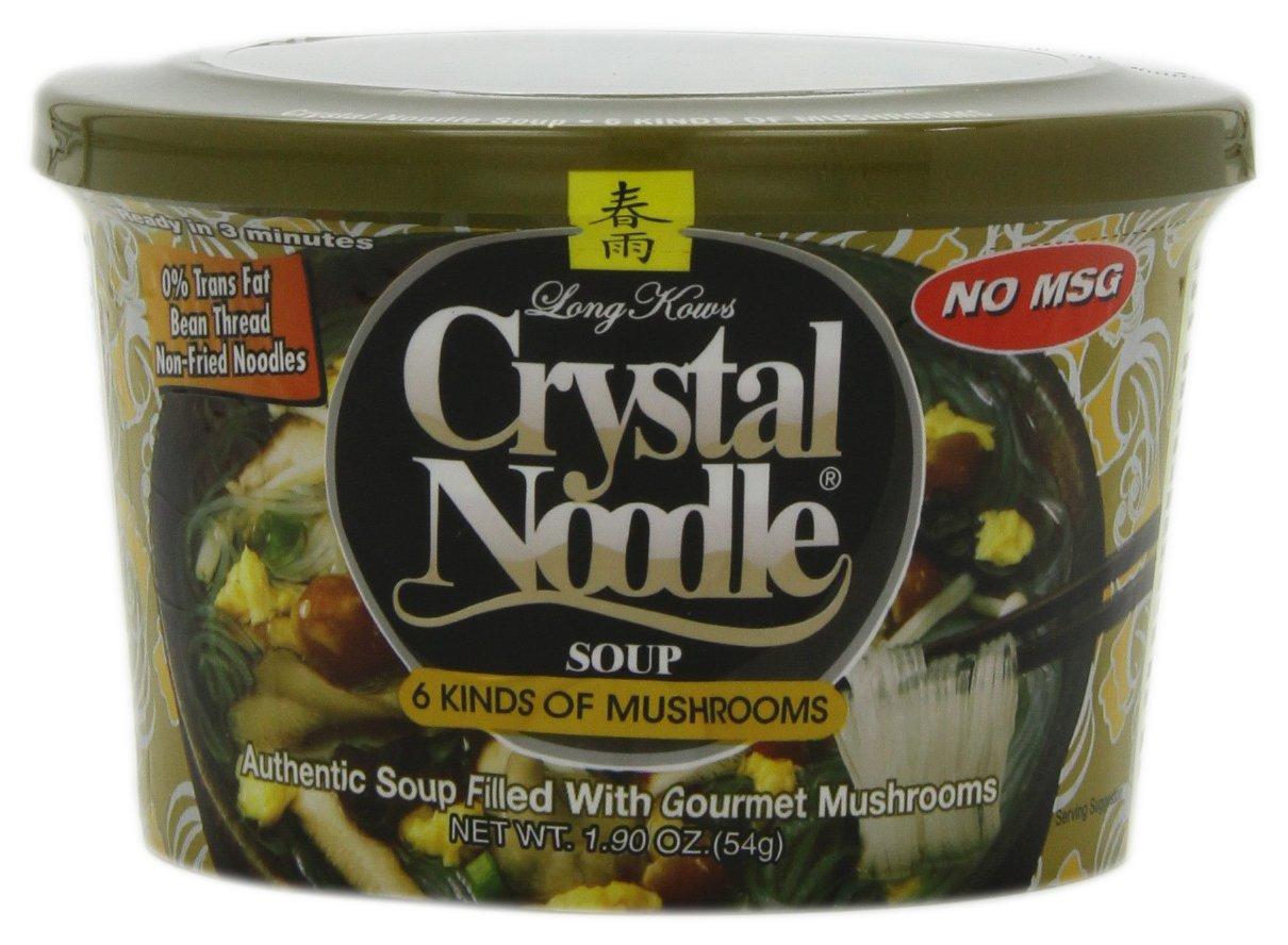 Amazon.com : Crystal Noodle Soup, 6 Kinds of Mushrooms, 1.9 Ounce ...