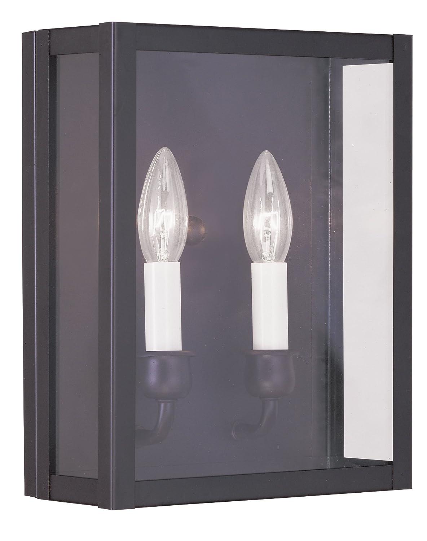 Bronze Livex Lighting 4030-07 Milford 2-Light Wall Sconce