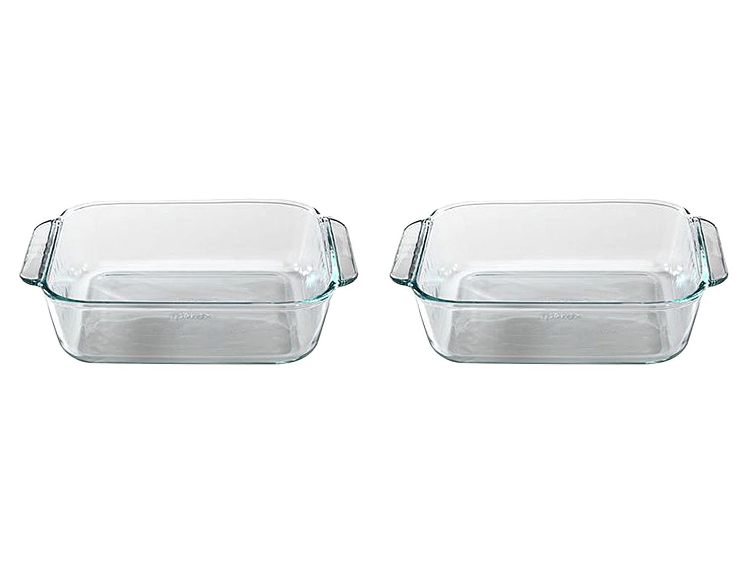"Set of 2 Pyrex 8"" Square Baking Dish bundled by Maven Gifts"