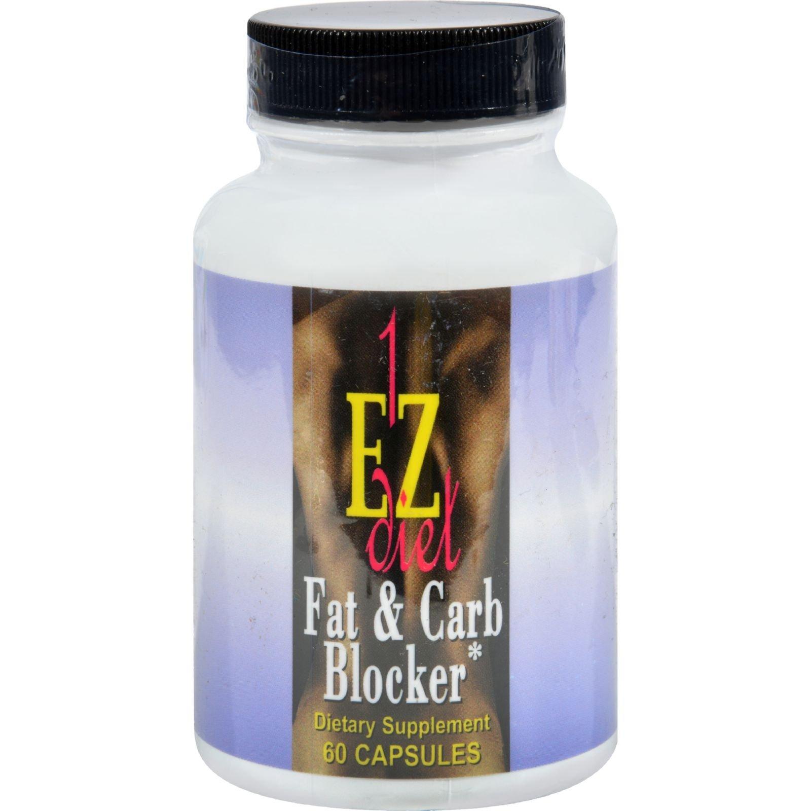 Maximum International 1-EZ Fat and Carb Blocker - 60 Capsules (Pack of 2)