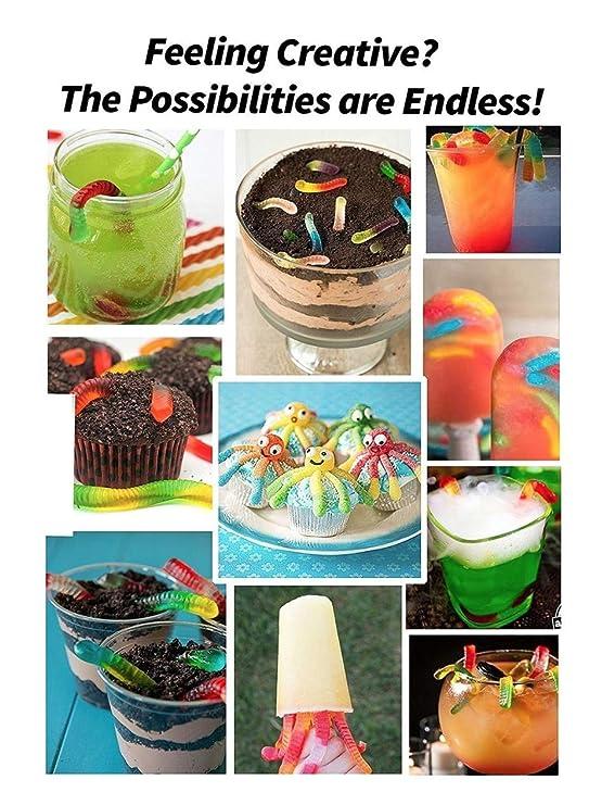 Gran cavidad para Home Made Gummies, frutas aperitivos, cubitos de hielo y chocolates todos con un producto: Amazon.es: Hogar