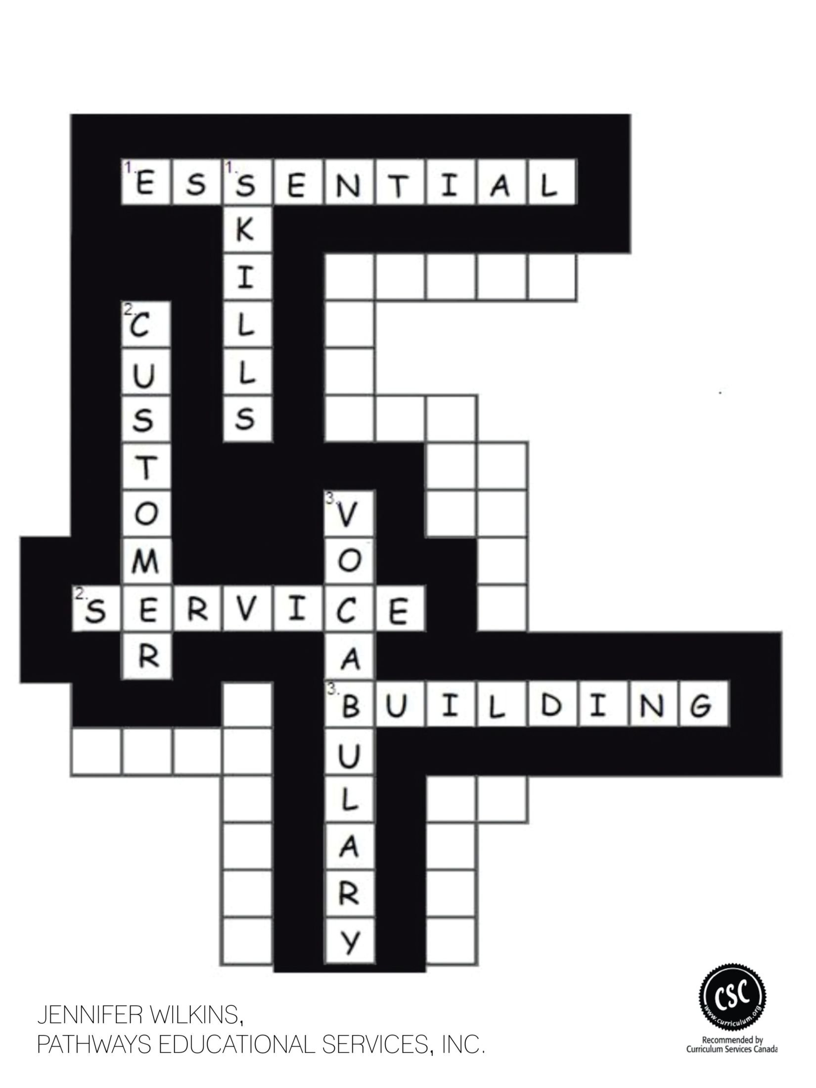 Download Essential Skills: Customer Service Vocabulary Building Workbook pdf epub