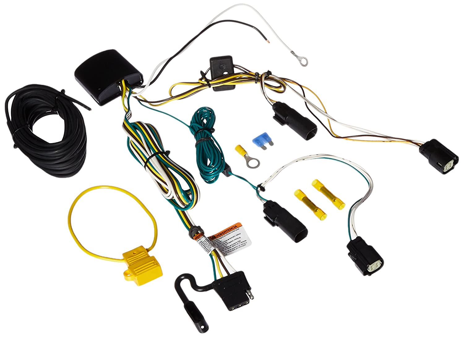 Tekonsha 118712 T-One Connector Assembly W//Upgraded Circuit Protected Modulite Hd Module